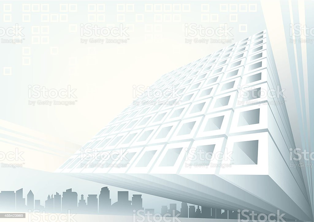 Building Extrusion royalty-free stock vector art