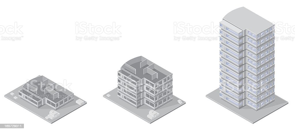 Building Under Construction royalty-free stock vector art