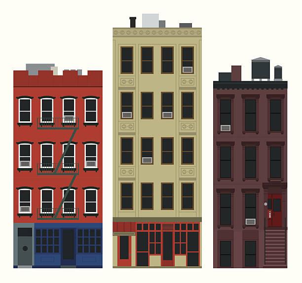 Nyc Apartment Building: Apartment Clip Art, Vector Images & Illustrations