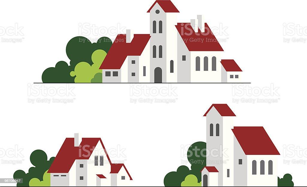 buildings royalty-free stock vector art