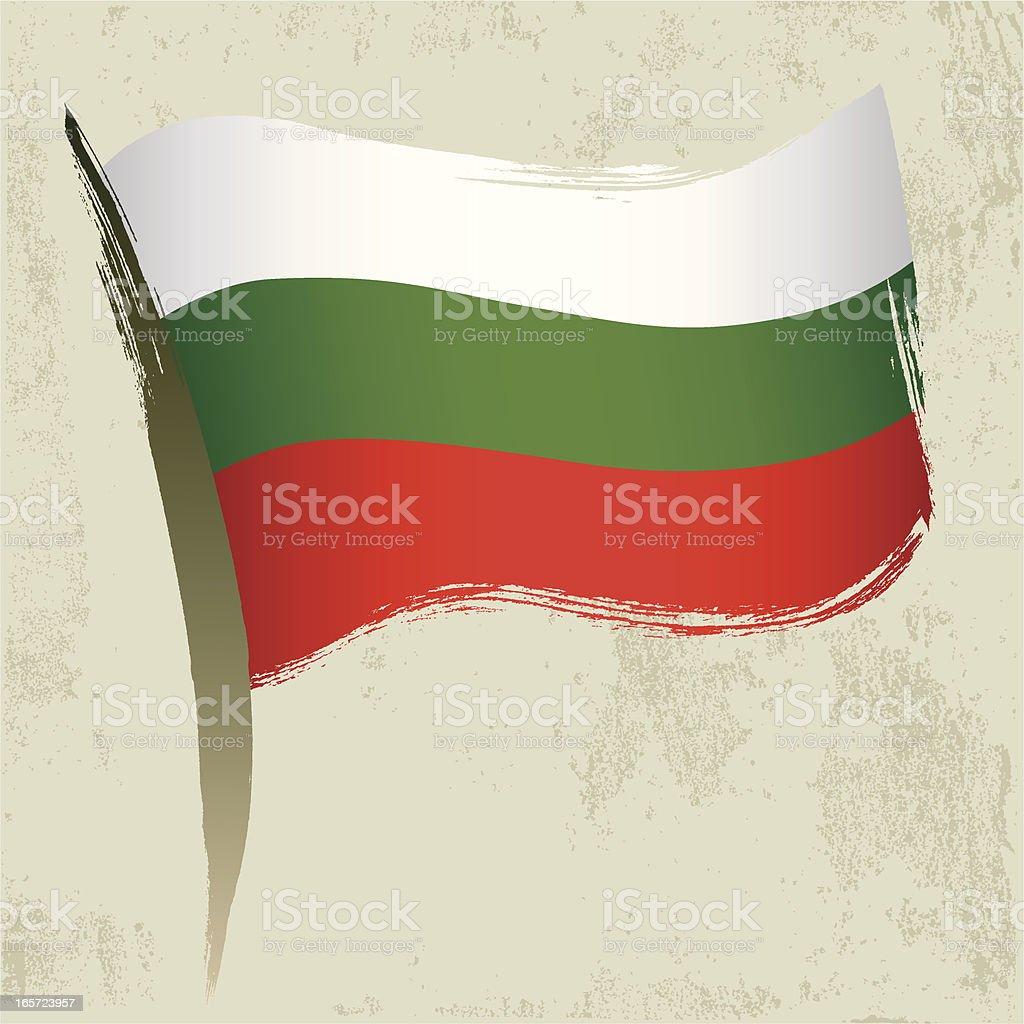 Bulgaria Flag royalty-free stock vector art