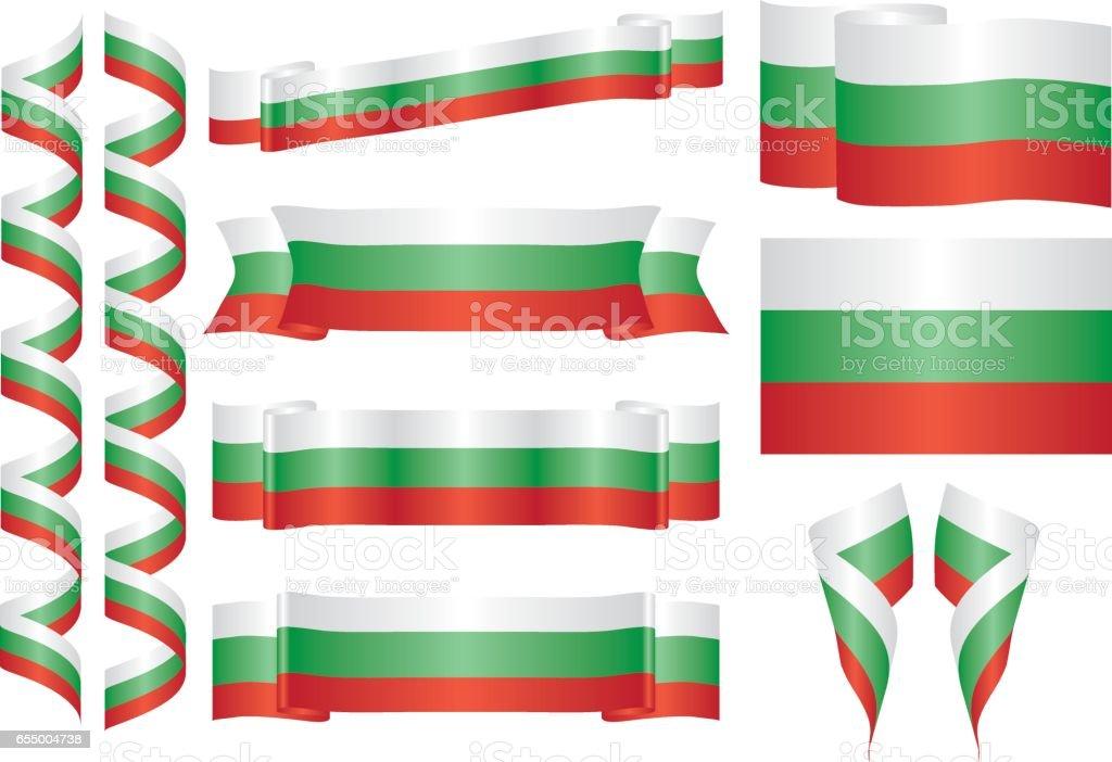 Bulgaria vector art illustration