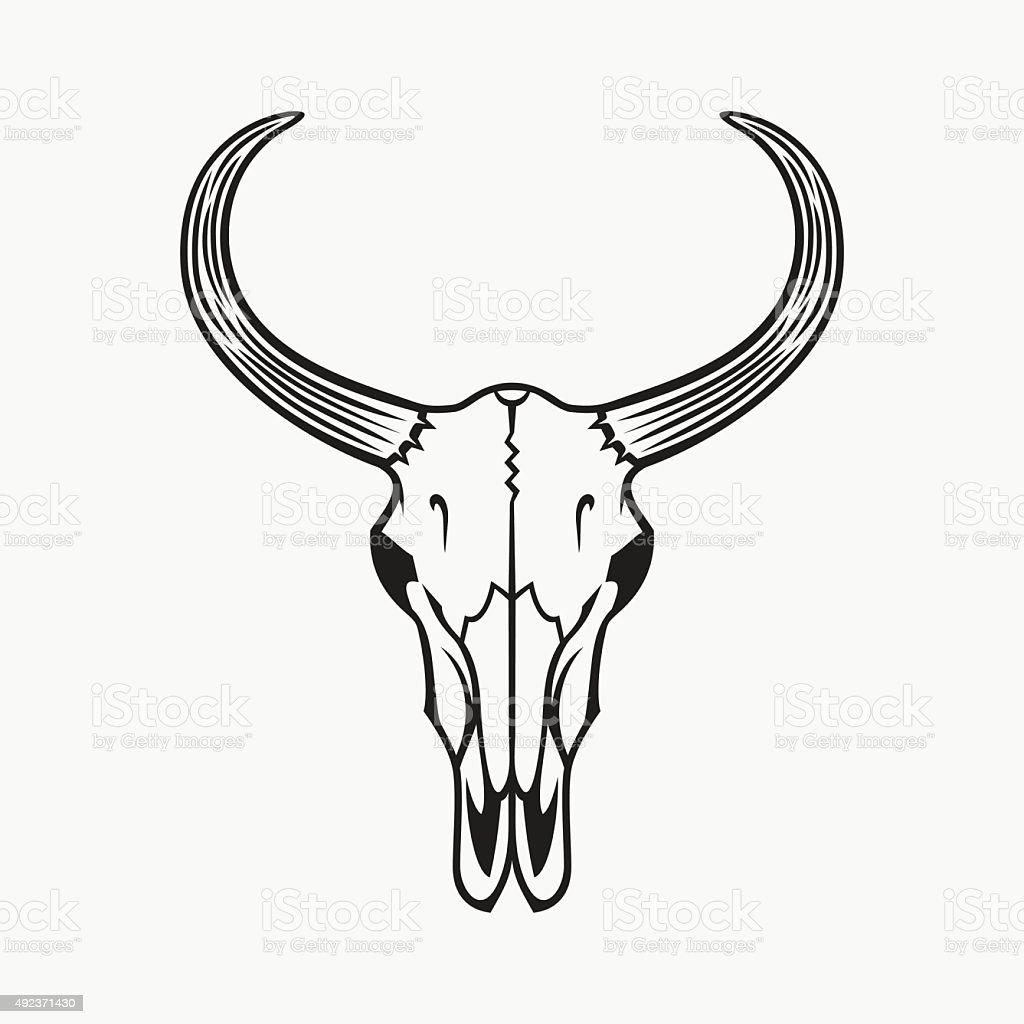 bull skull clip art vector images amp illustrations istock