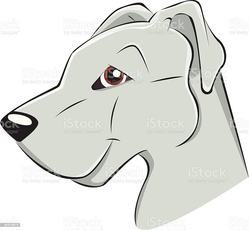 Dogo royalty-free stock vector art