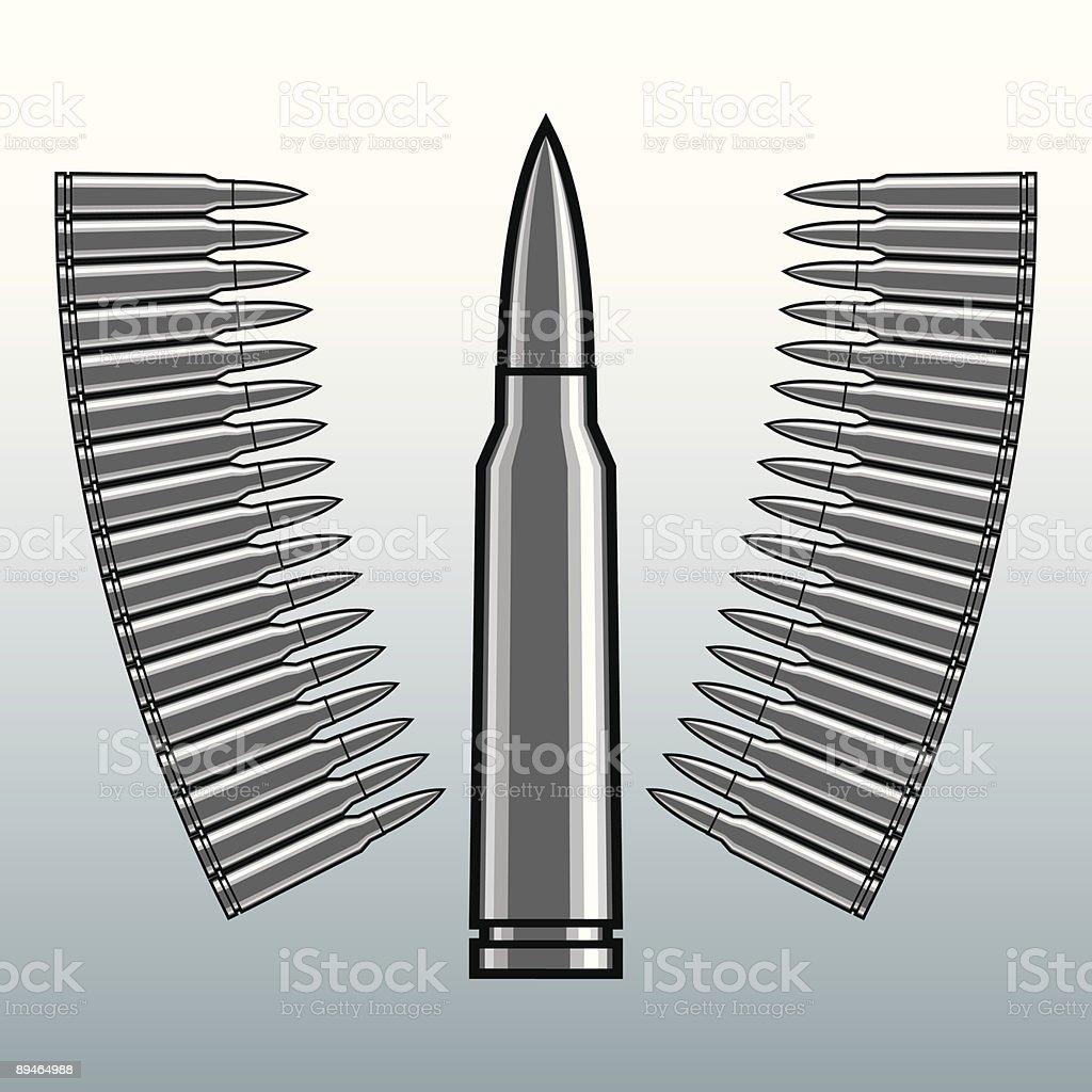 bullet vector art illustration