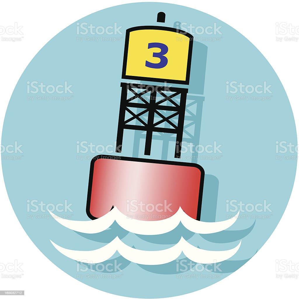 buoy icon royalty-free stock vector art
