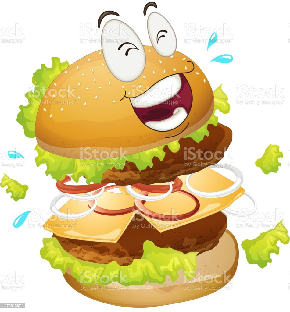 Burger royalty-free stock vector art