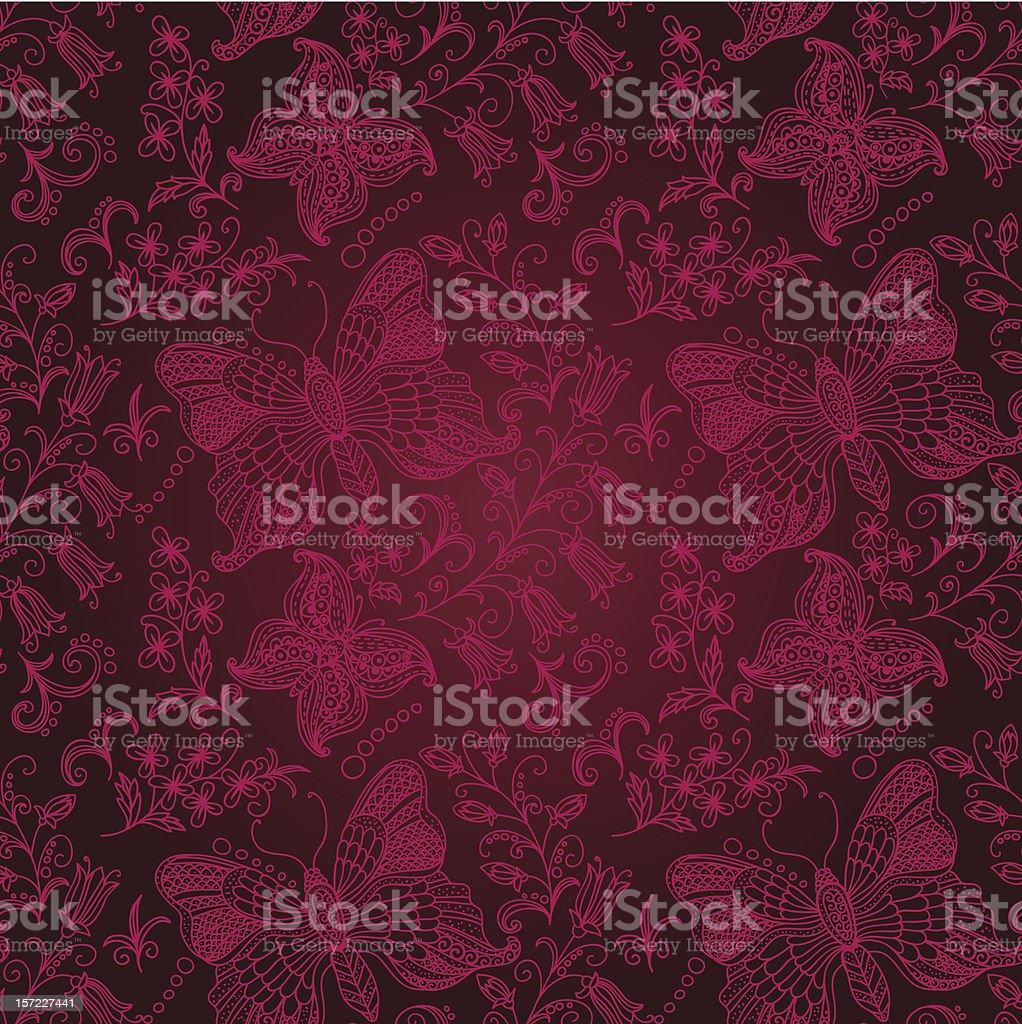 burgundy seamless background royalty-free stock vector art