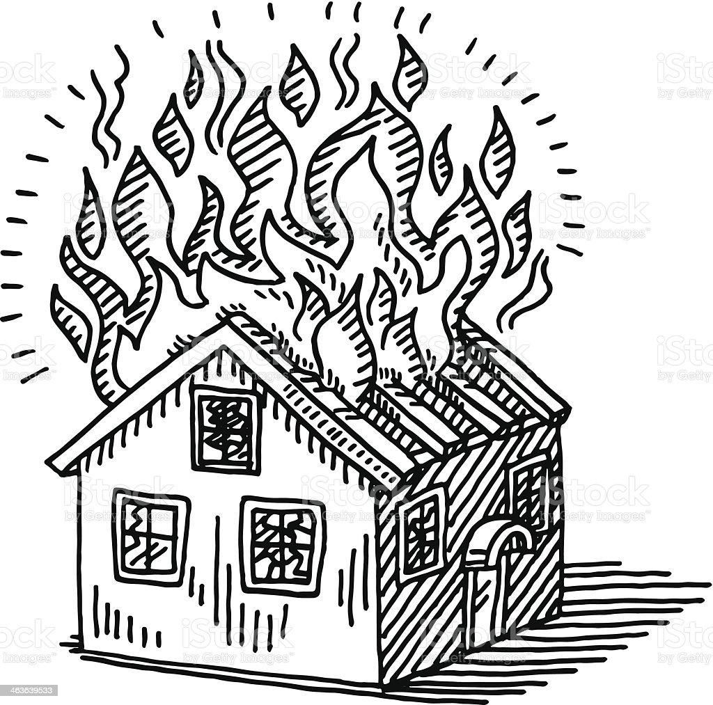 clipart burning house - photo #33