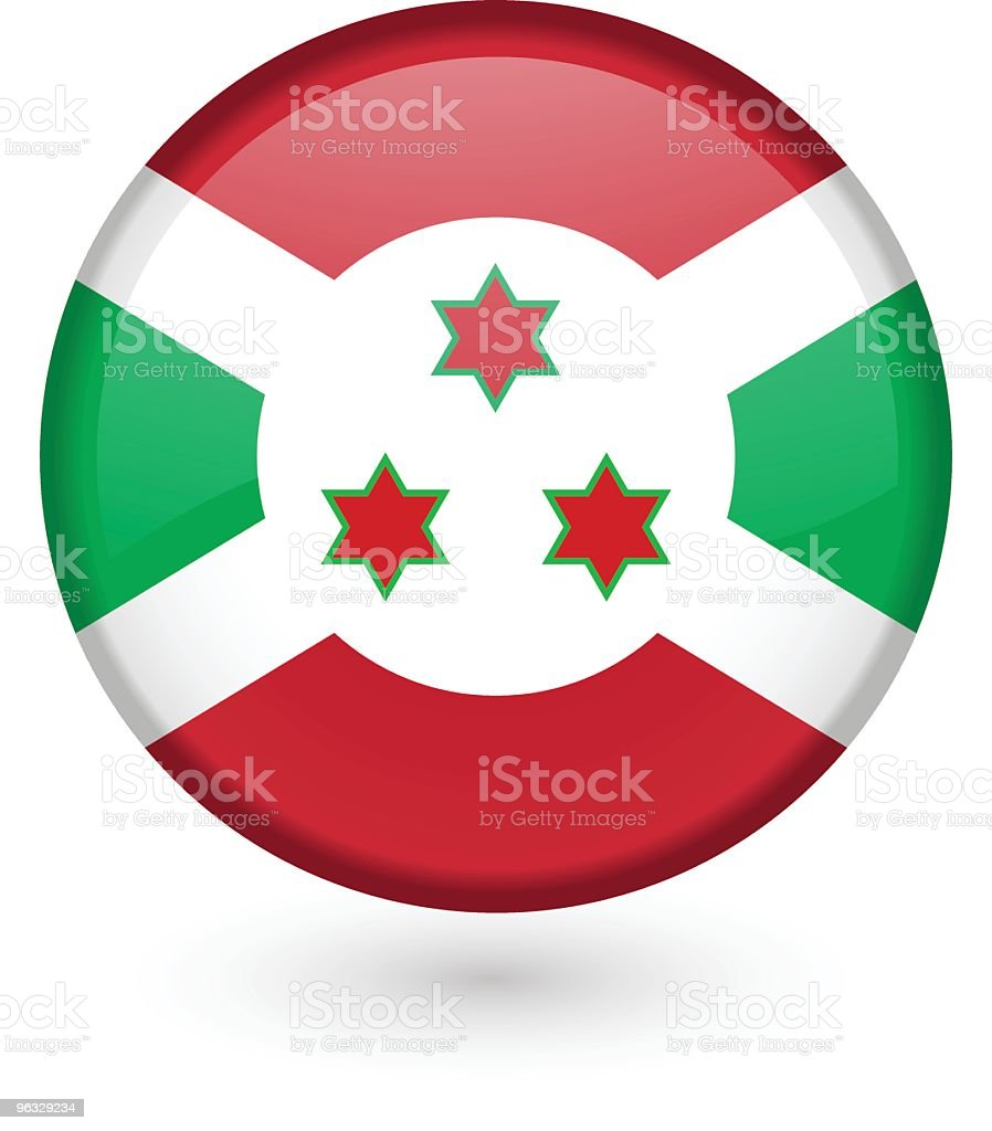 Burundi flag button royalty-free stock vector art