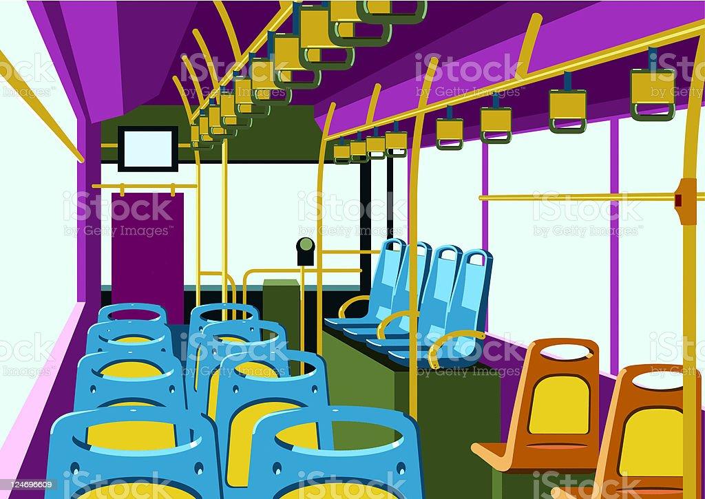 bus royalty-free stock vector art