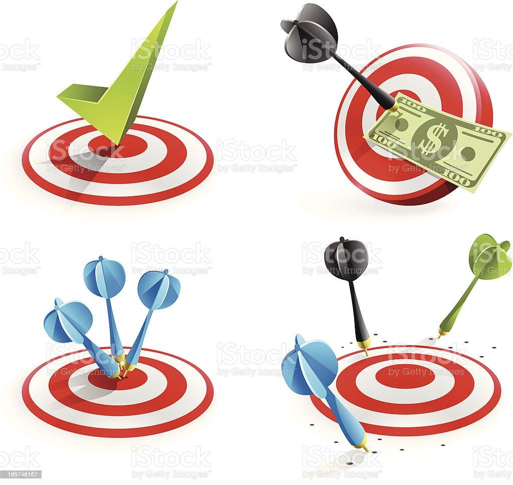 Busines Success Concept vector art illustration