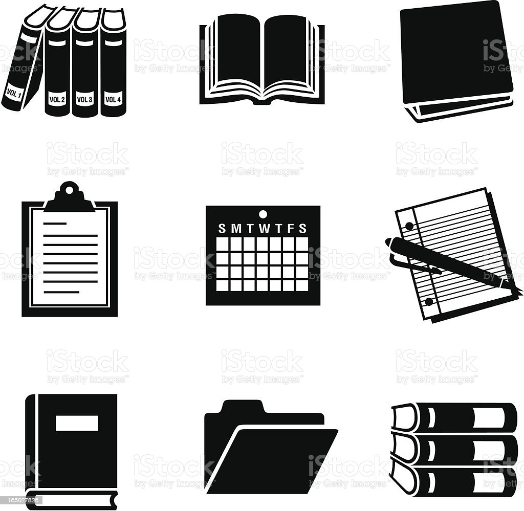 business 11 documents 02 vector art illustration