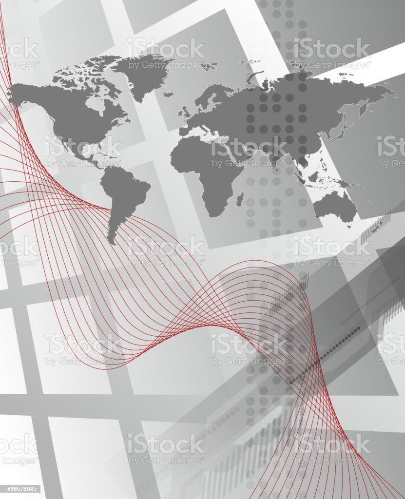Fondo abstracto de negocios illustracion libre de derechos libre de derechos
