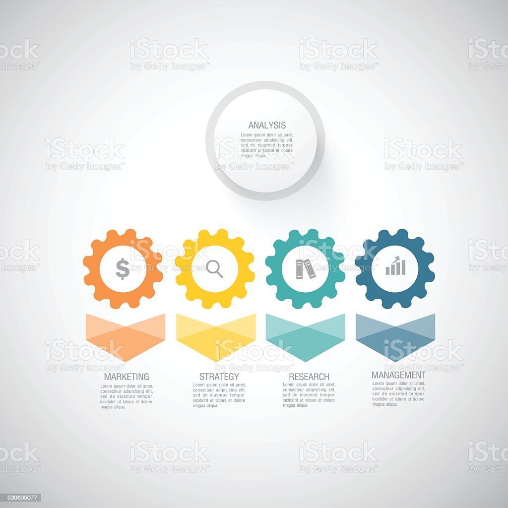 Business and Marketing Concept vector art illustration