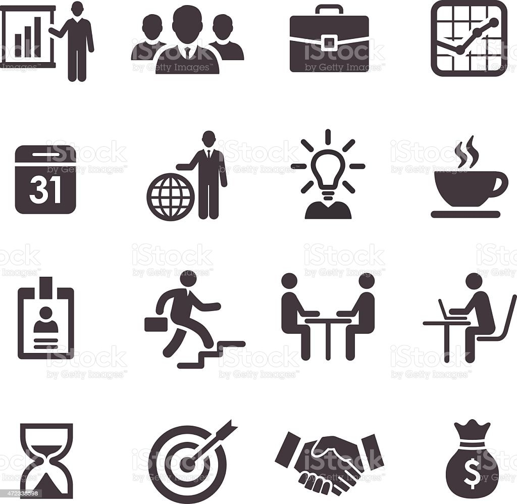 Business and workflow Icons - Acme Series vector art illustration