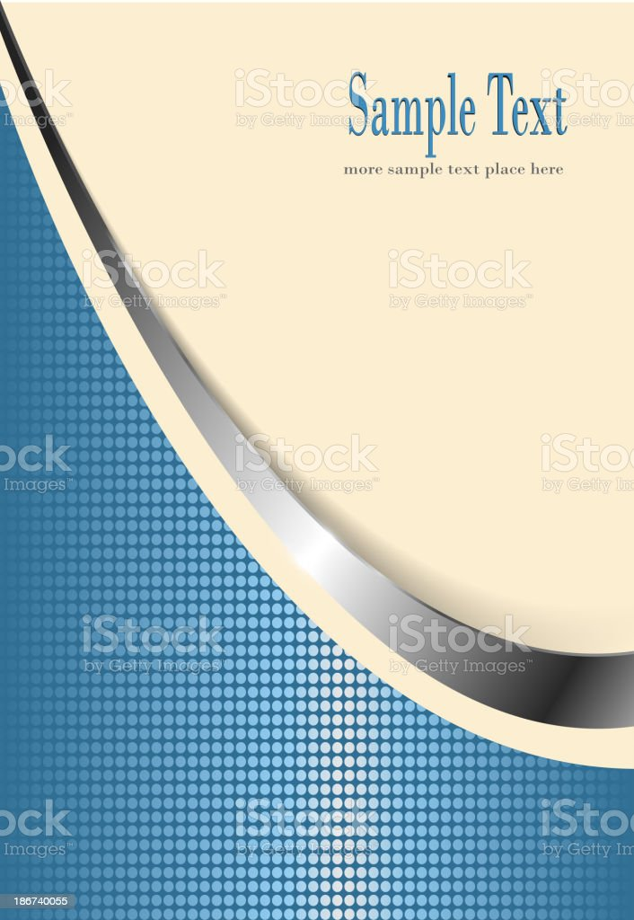 business background beige and blue royalty-free stock vector art