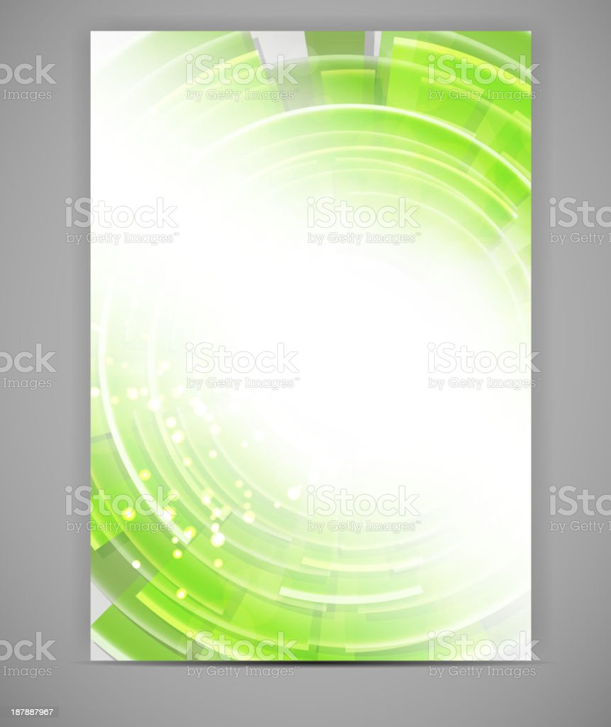 Business blank template vector illustration royalty-free stock vector art