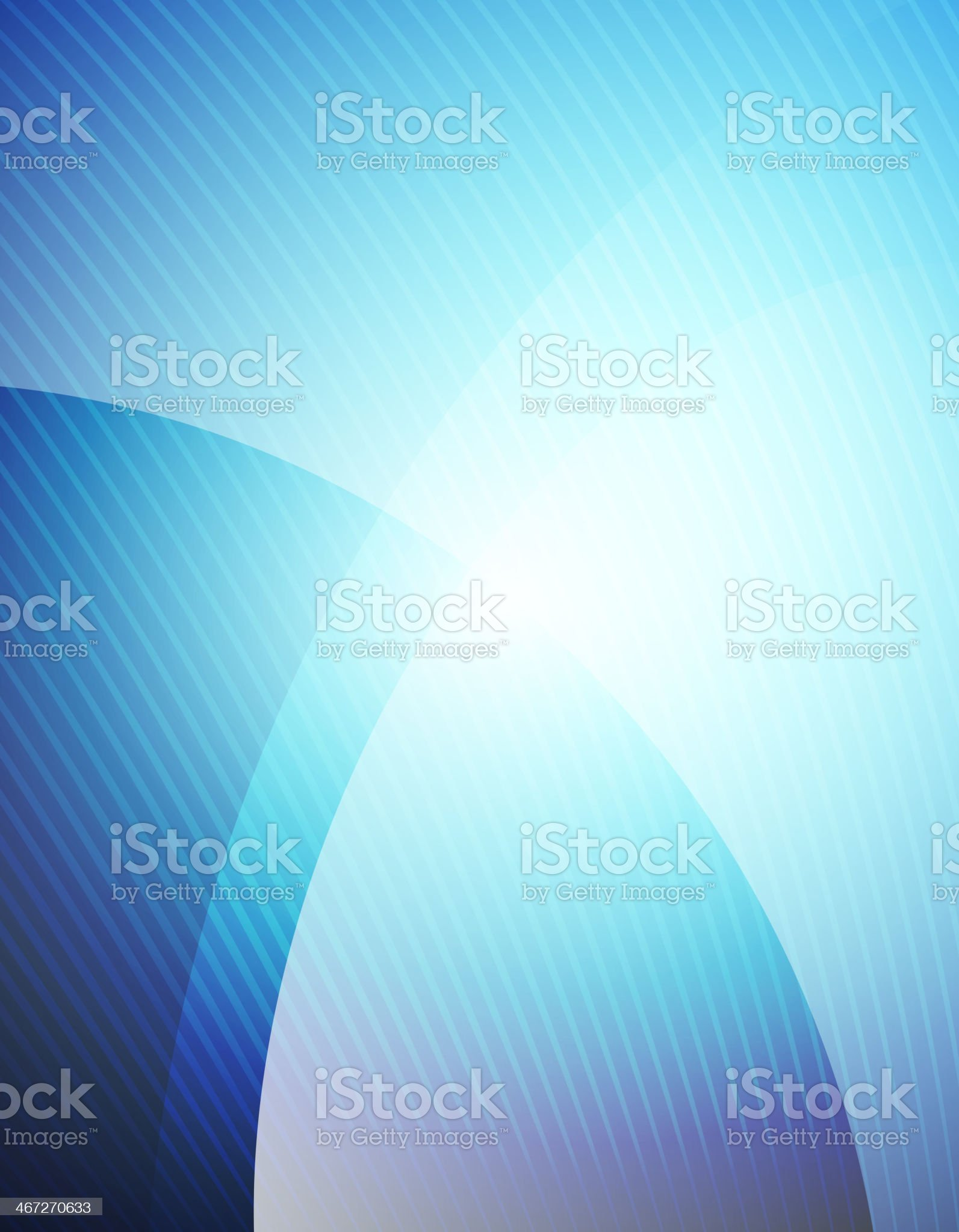 Business blue wave template royalty-free stock vector art