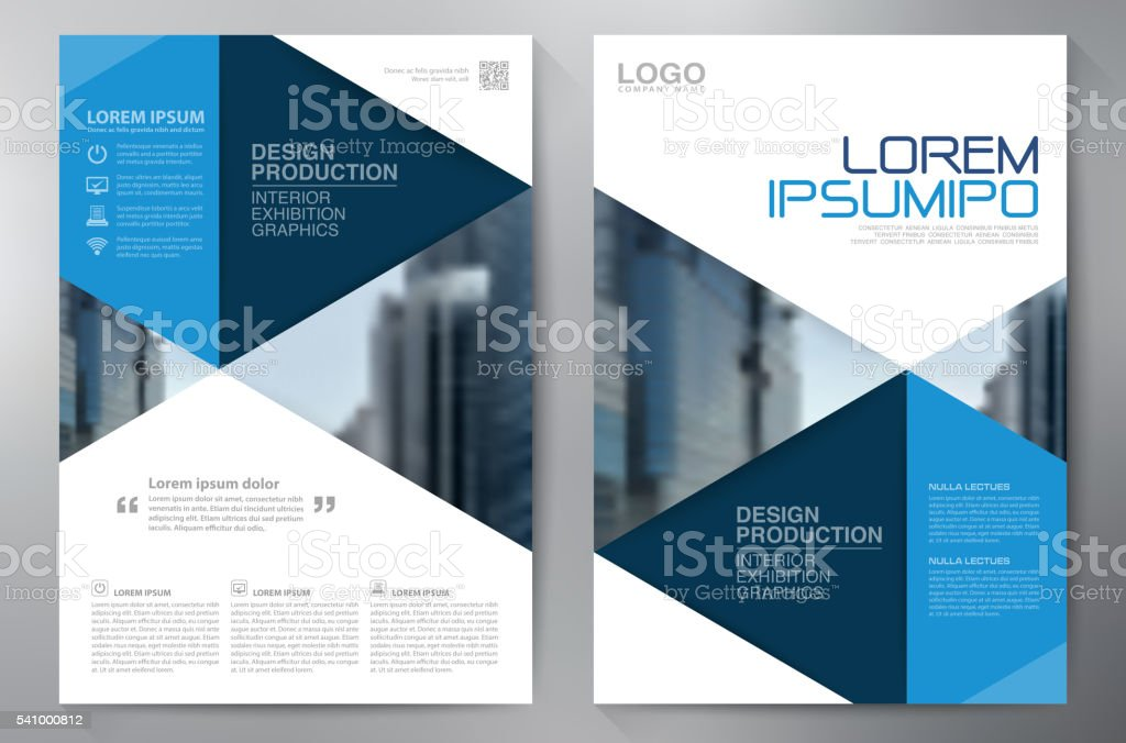 Business brochure flyer design a4 template royalty-free stock vector art