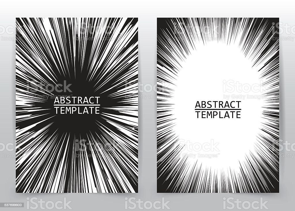 Business brochure flyer vector art illustration