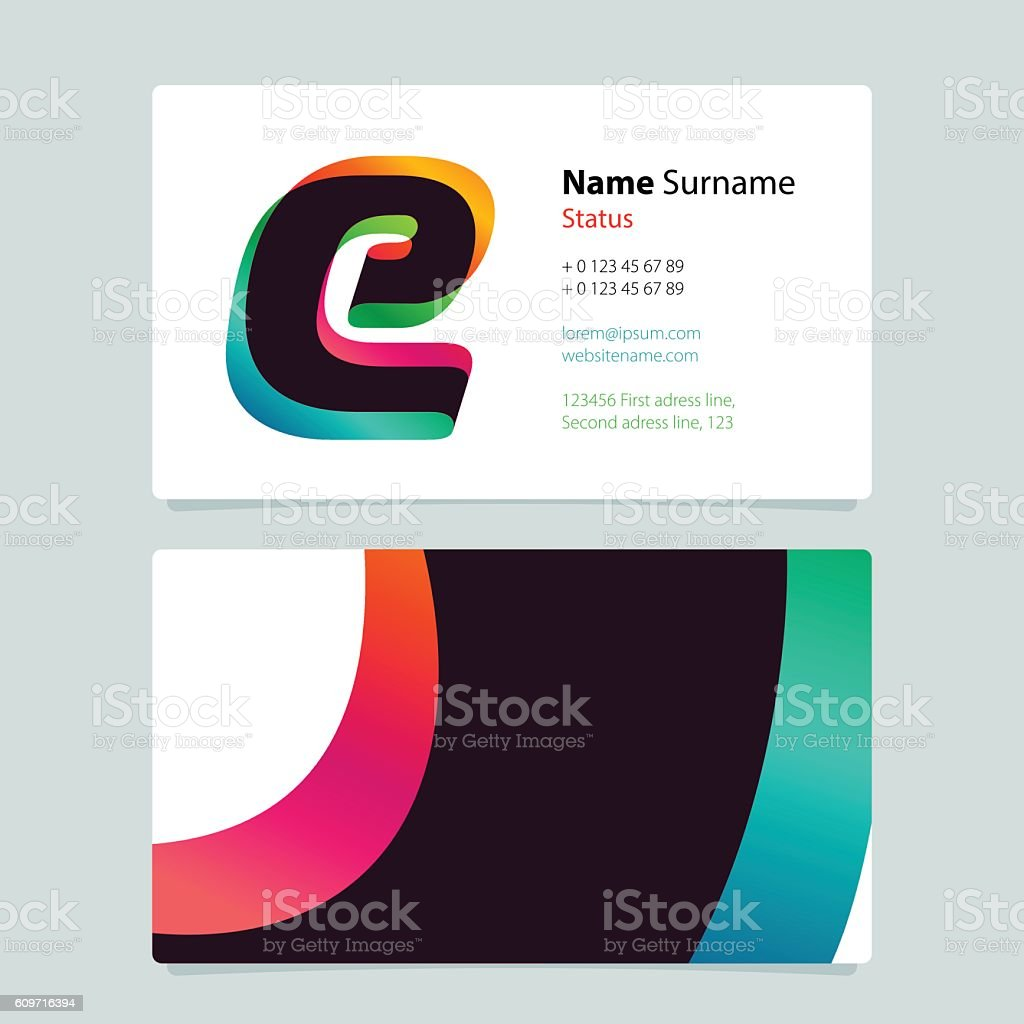 Business card template design with overlay e icon download vetor e business card template design with overlay e icon download vetor e ilustrao royalty free reheart Image collections
