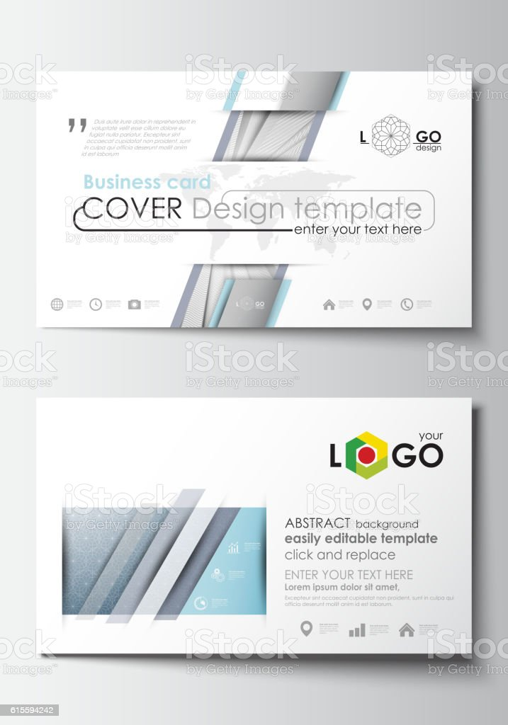 Business Card Templates Cover Design Template Easy Editable Blank
