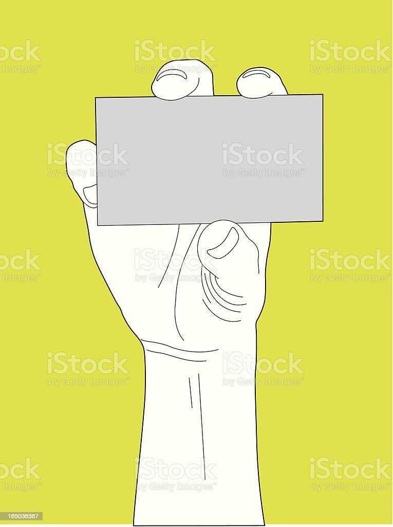Business Card royalty-free stock vector art