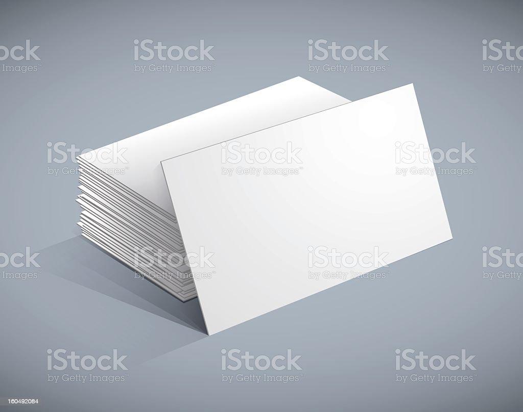 Business cards templates vector art illustration