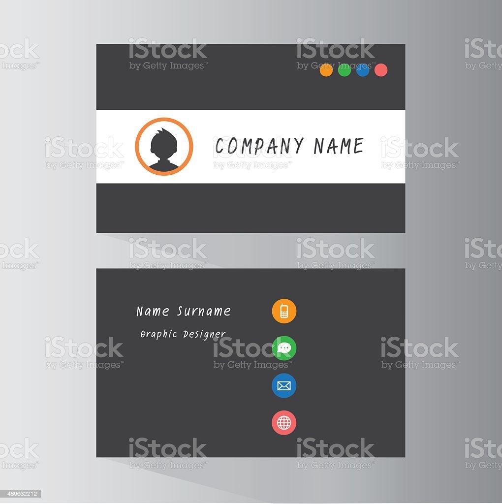 Business Cards stock vector art 486632212 | iStock
