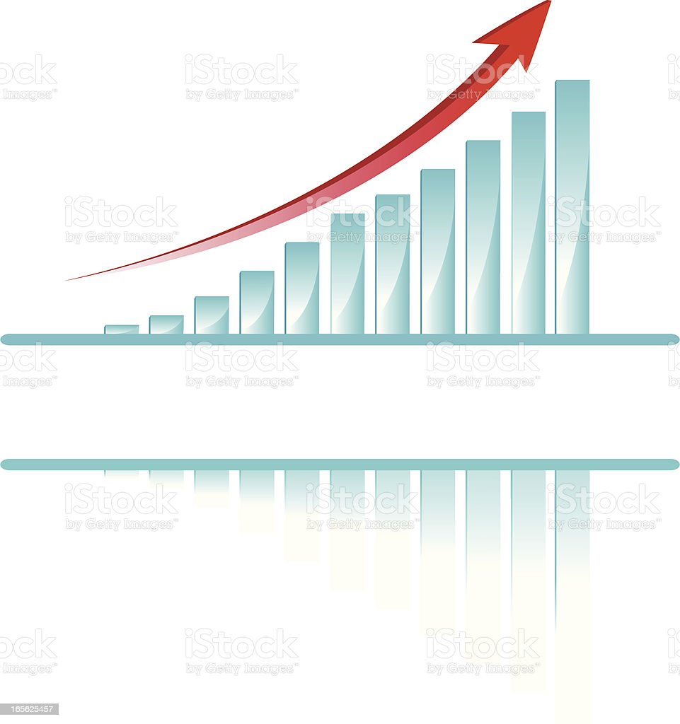 business chart composition royalty-free stock vector art