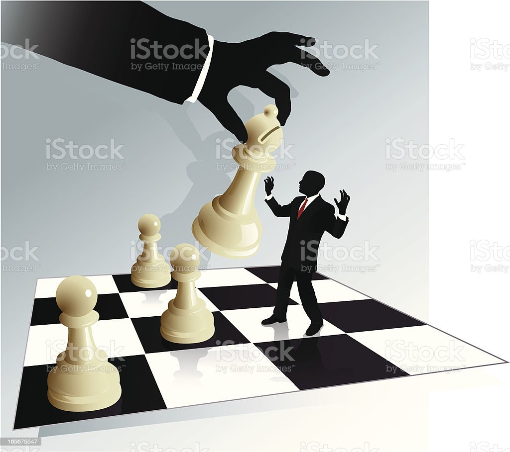 Business Chess royalty-free stock vector art