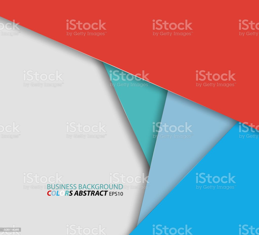 Business colors abstract background vector art illustration
