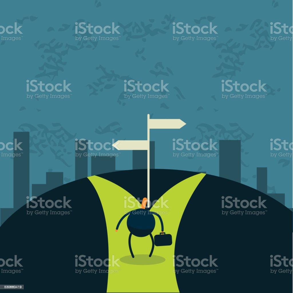 business concepts vector art illustration