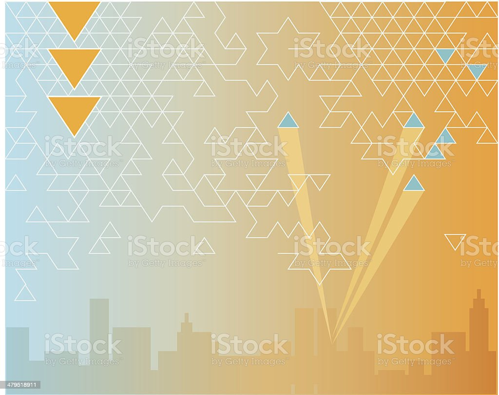 Business connections royalty-free stock vector art