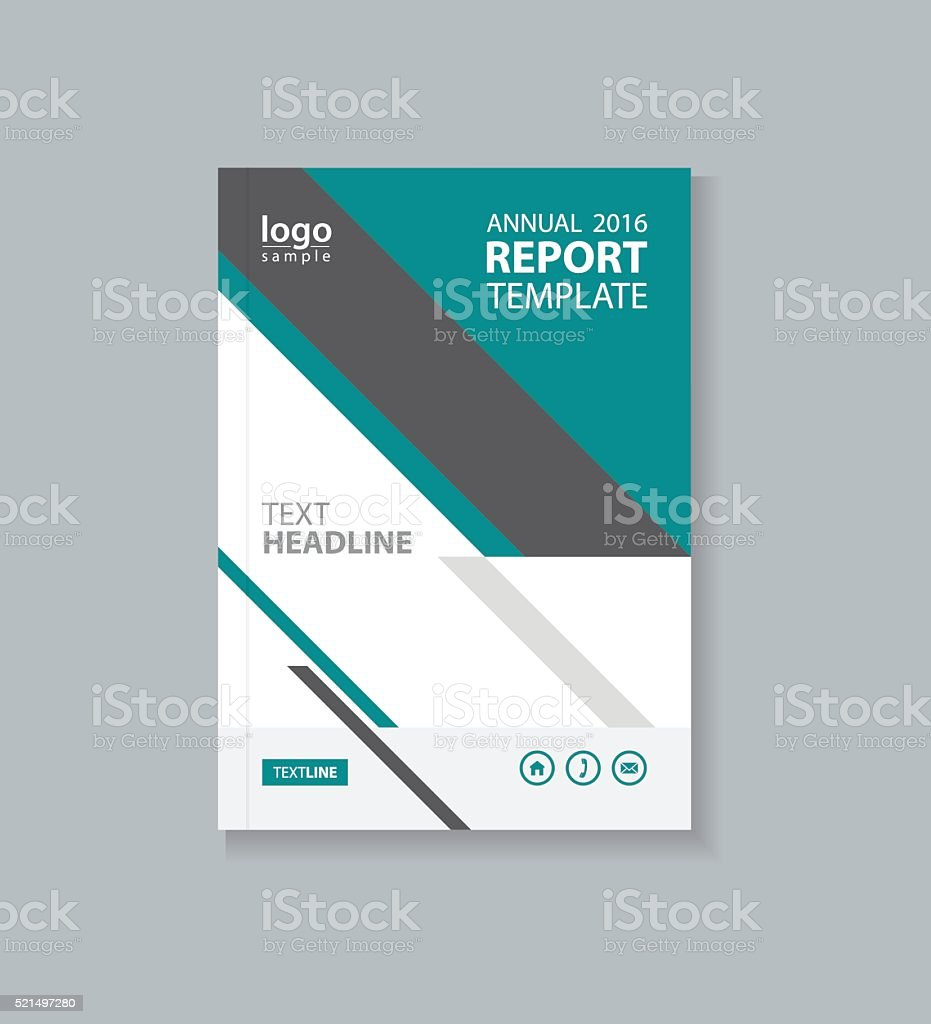 business cover design template brochure annual report flyer 1 credit