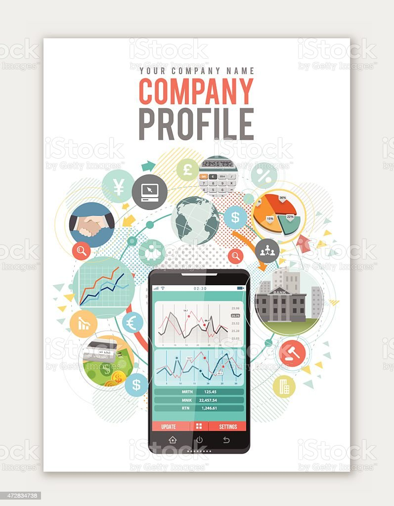 Business Cover design vector art illustration