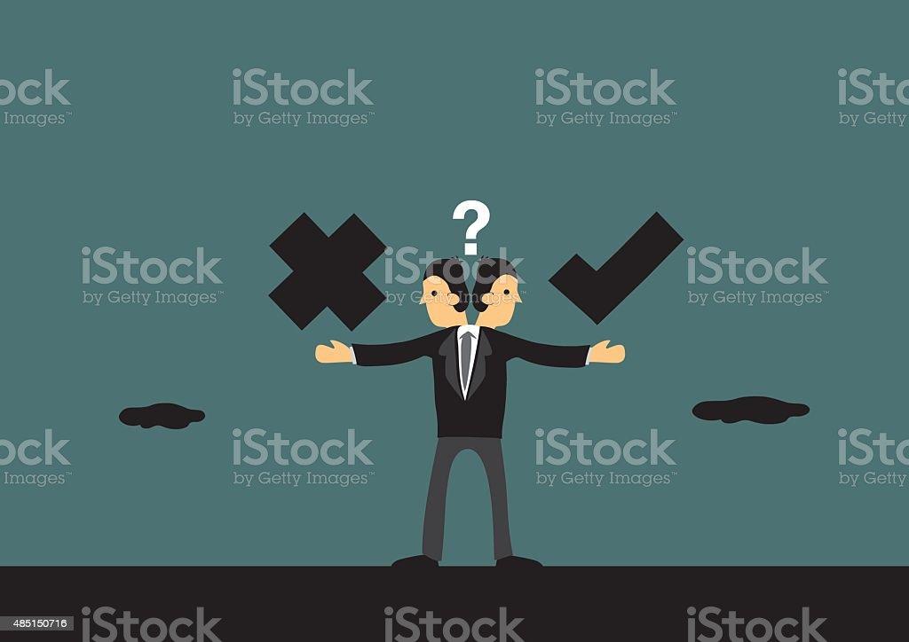 Business Ethics Conceptual Vector Illustration vector art illustration