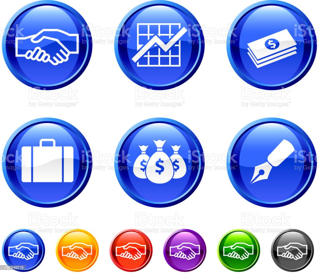 business finance. 36 royalty-free vector arts buttons. royalty-free stock vector art