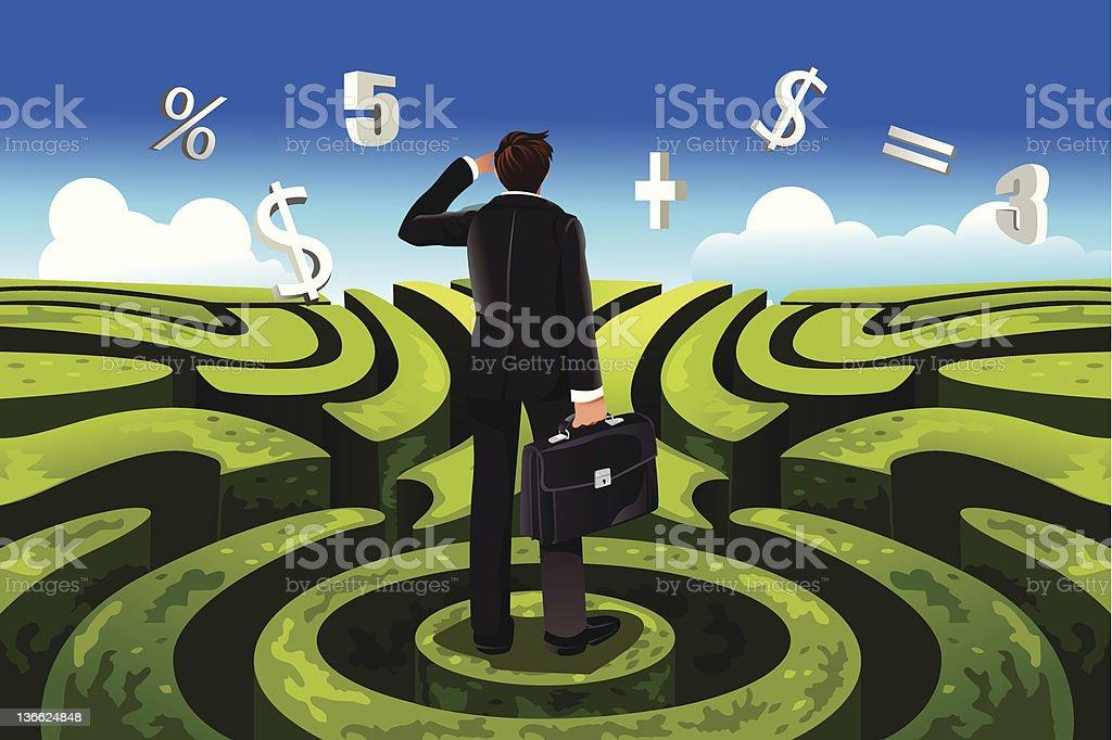 Business finance royalty-free stock vector art