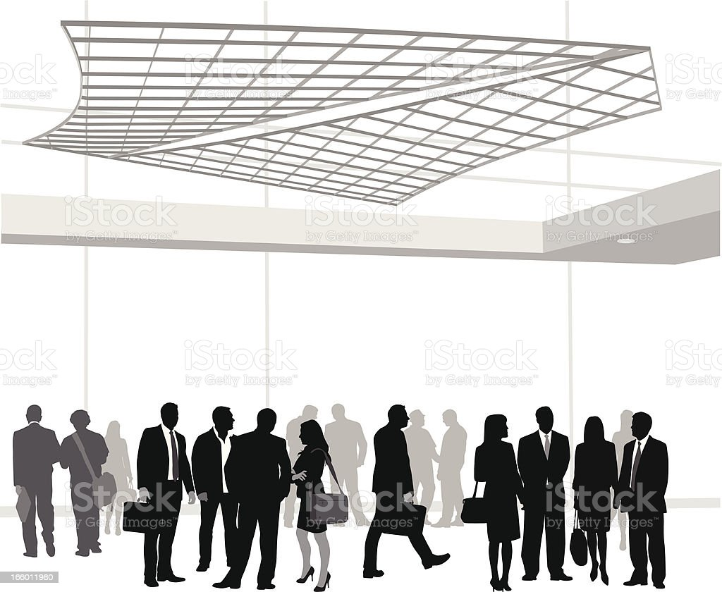 Business Gathering royalty-free stock vector art