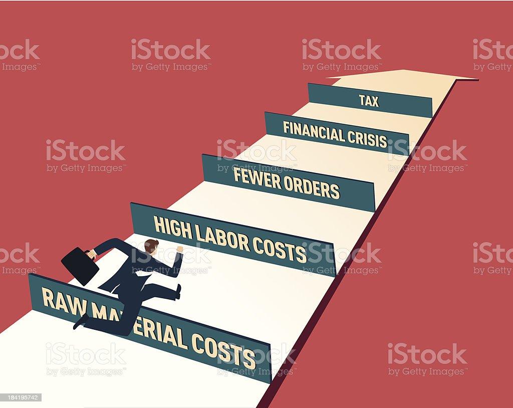 Business Goals vector art illustration