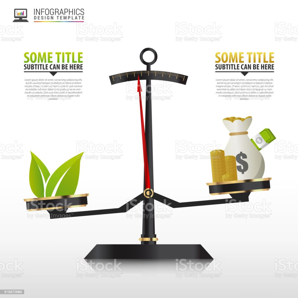 Business golden style price scale Infographics template. Vector vector art illustration
