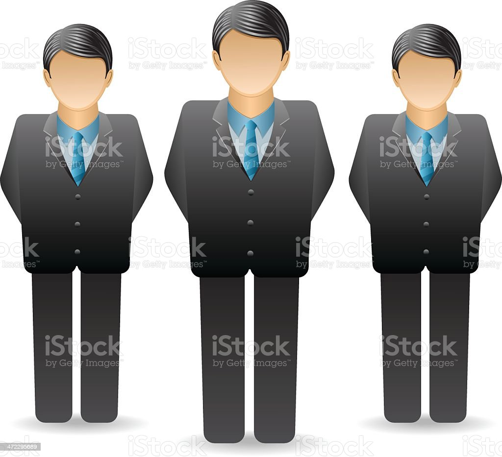 Business Group royalty-free stock vector art