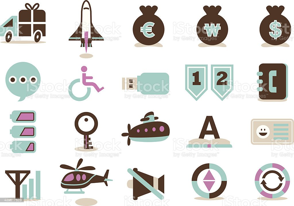 business icon 09 royalty-free stock vector art