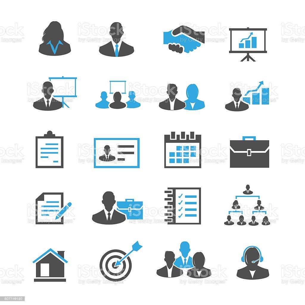 Business Icon vector art illustration