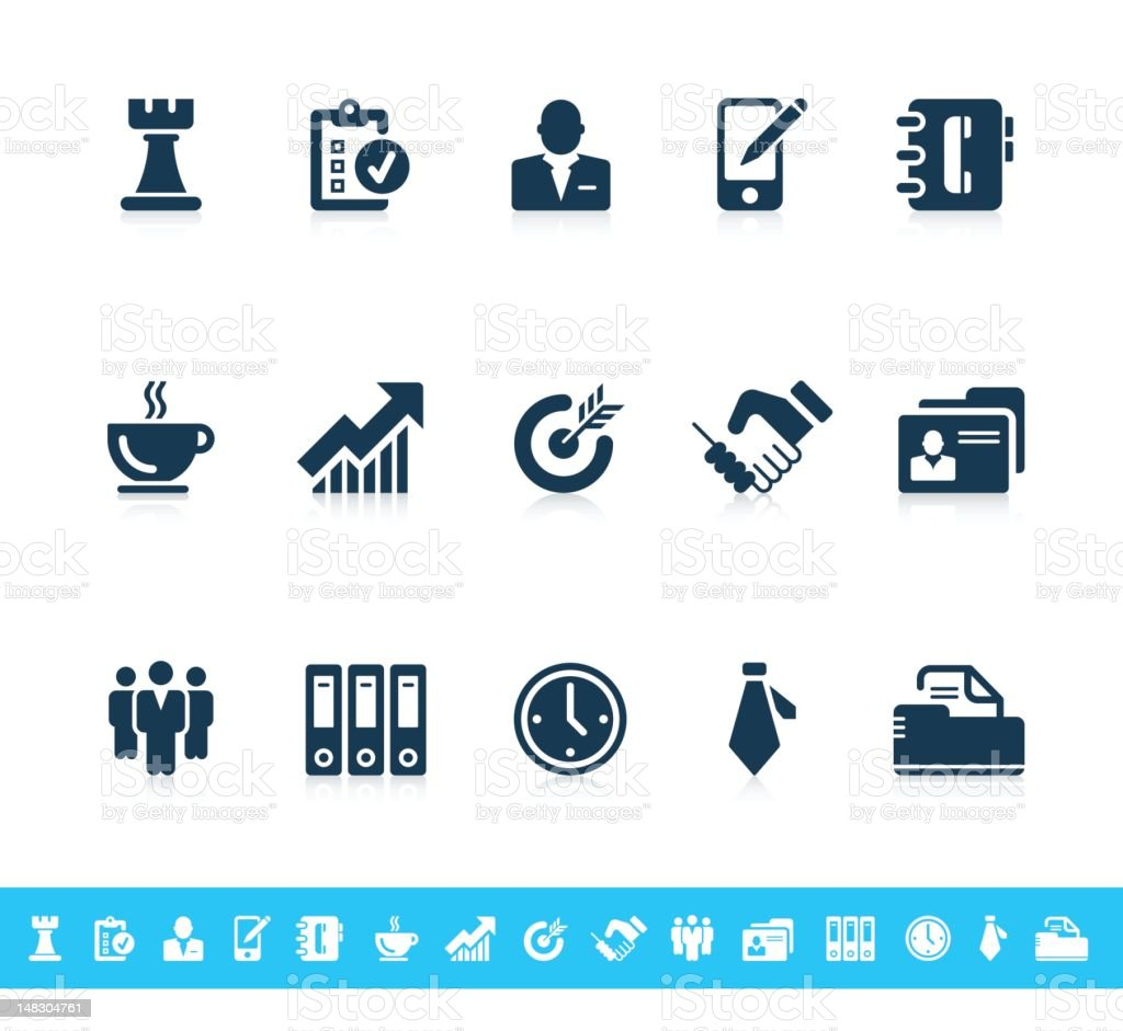 Business icons | Sanoma series stock photo