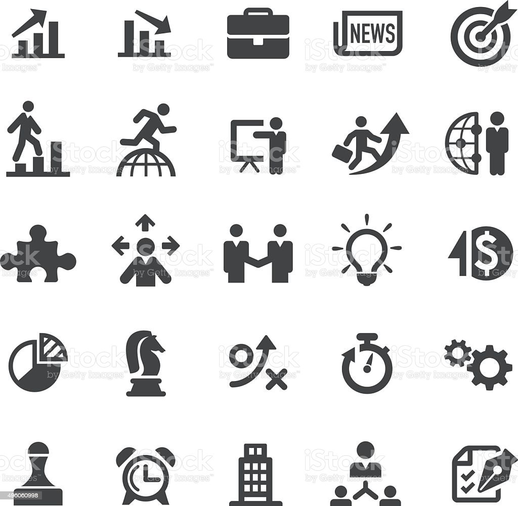 Business Icons - Smart Series vector art illustration