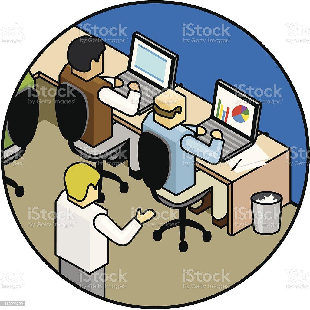 Business Illustration (IT) royalty-free stock vector art