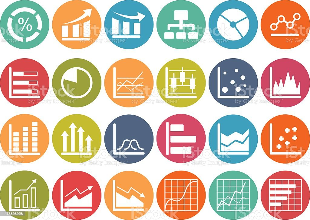 Business Infographic icons vector art illustration